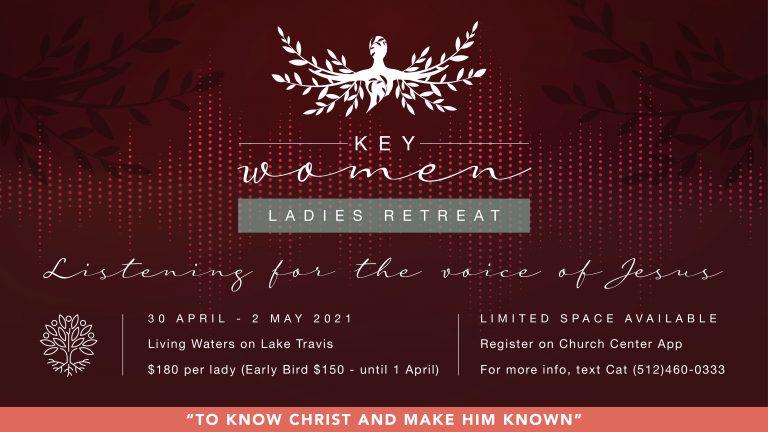 Ladies Retreat – Listening for the Voice of Jesus