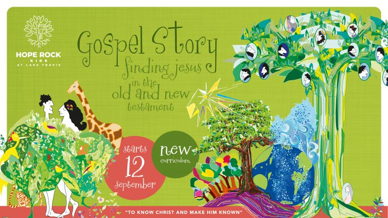 """New Curriculum """"Gospel Story: Finding Jesus in the Old and New Testament!"""""""