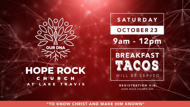 DNA – Getting to know Hope Rock Church